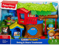 Fisher Price Little People Swing and Share Treehouse