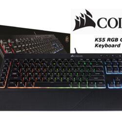 Corsair K55 Keyboard