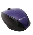 Verbatim 6 Button Deluxe Mouse Purple