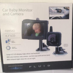 FLUID Car Baby Monitor and Camera Model FBMS43