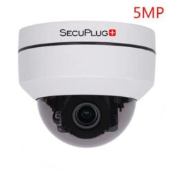 SecuPlug 5.0MP IP PTZ Camera. Model SP-MG03AR-5.0MP