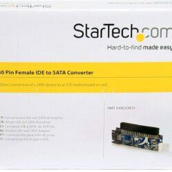 StarTech 40 Pin Female IDE to SATA Converter