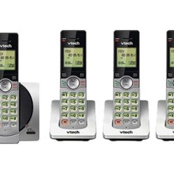 vtech 4 Handset Cordless Phone System with Caller ID/Call Waiting CS6919-4