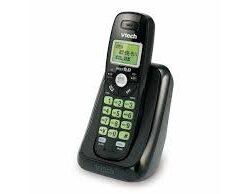 vtech Black Cordless Telephone with Caller ID/Call Waiting CS6114-11