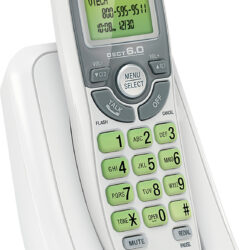vtech White Cordless Telephone with Caller ID/Call Waiting CS6114