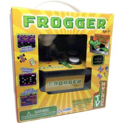 MSI Entertainment Retro Arcade Plug & Play Classic Frogger TV Arcade with Joystick Controller (5641)