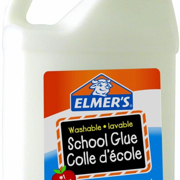 Elmer's Washable School Glue 3.8 Litre