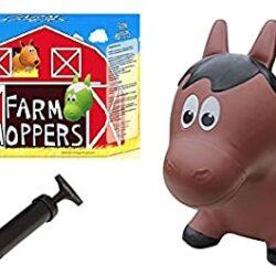Farm Hoppers Brown Horse