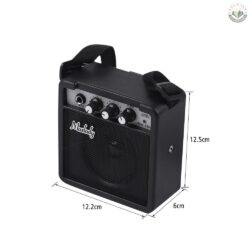 Muslady Mini Guitar Amp Black